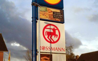 Zentrale Lage: Fachmarktzentrum Augustfehn